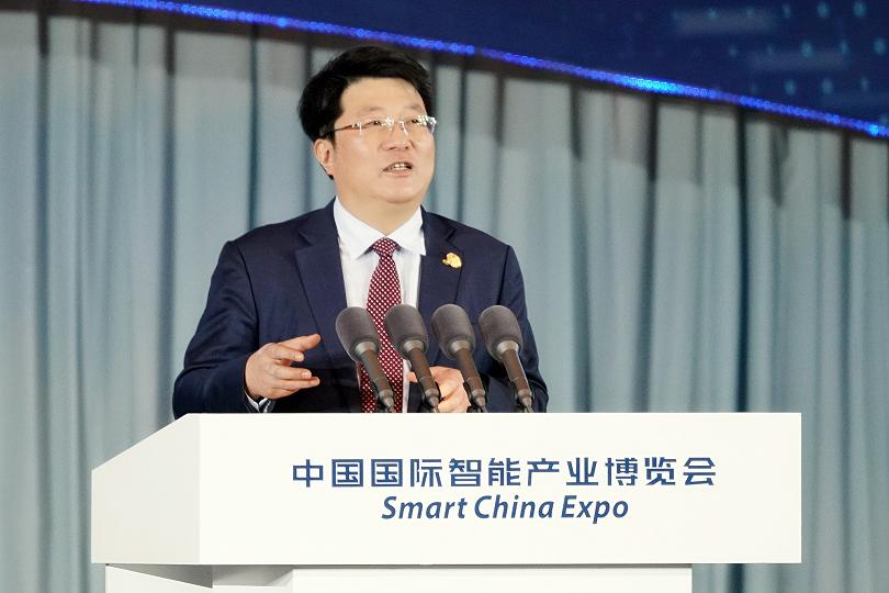"""《""""从芯到云"""",铸就智能科技基础——紫光集团亮相2018重庆智博会》"""