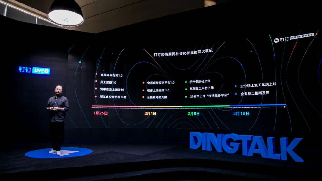 """《阿里钉钉发布抗疫""""战报"""":数字化提升1000万企业组织""""免疫力""""》"""